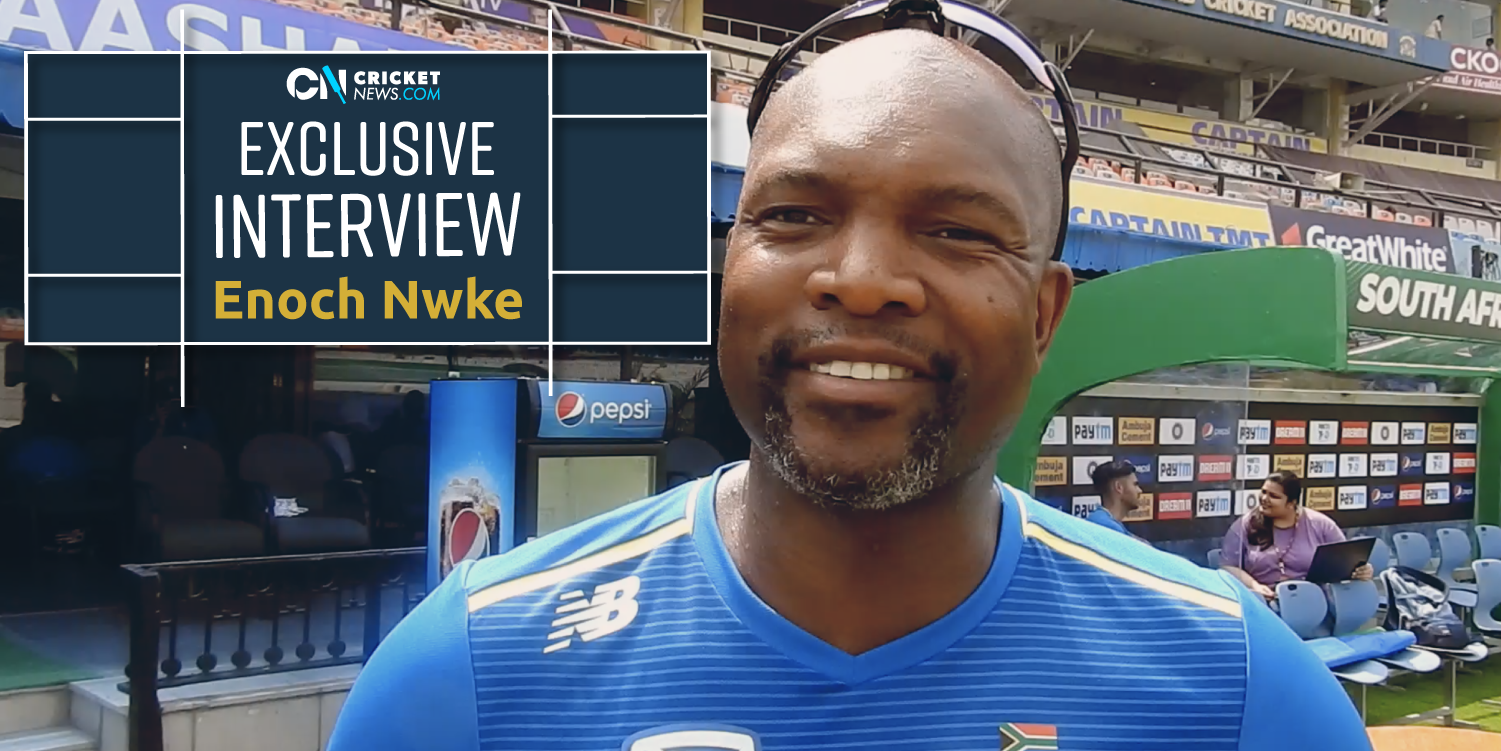 CricketNews Exclusive: South Africa coach Enoch Nkwe talks about India assignment and beyond