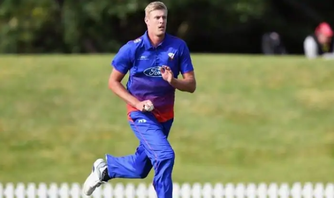 Meet Kyle Jamieson, New Zealand's Morne Morkel in the making