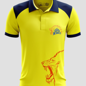 IPL Special Chennai Superkings (CSK) Fan Jersey