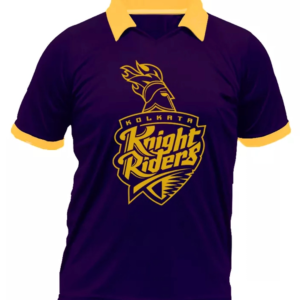 IPL Special Kolkata Night Riders (KKR) Fan Jersey (Collared)