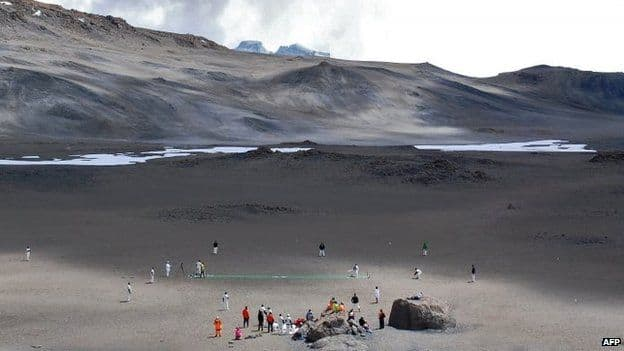 Feature: When Cricket was played on the summit of Mount Kilimanjaro