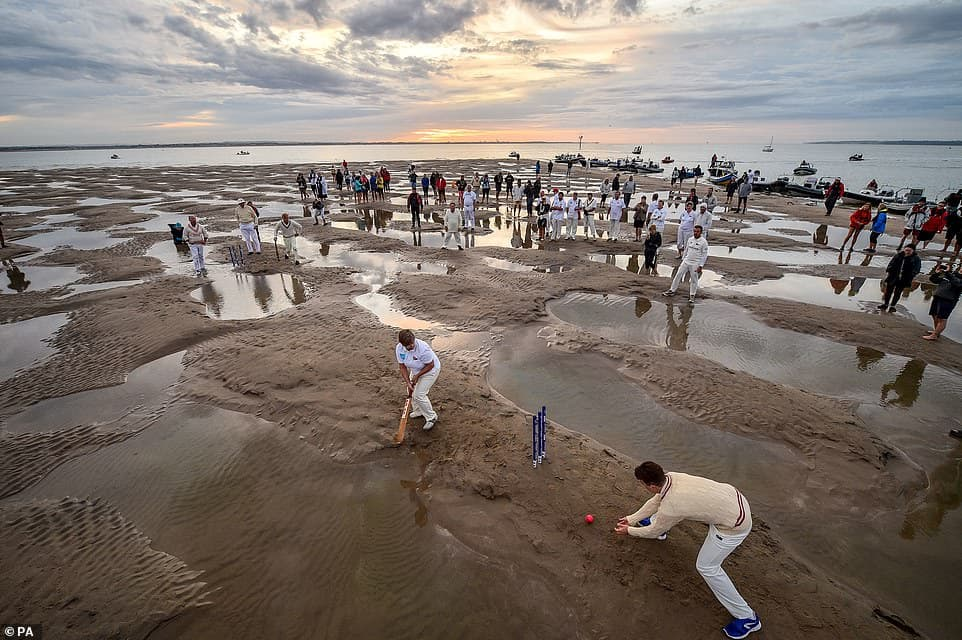 FEATURE: Cricket in the middle of English channel