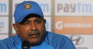Team India bowling coach Bharat Arun