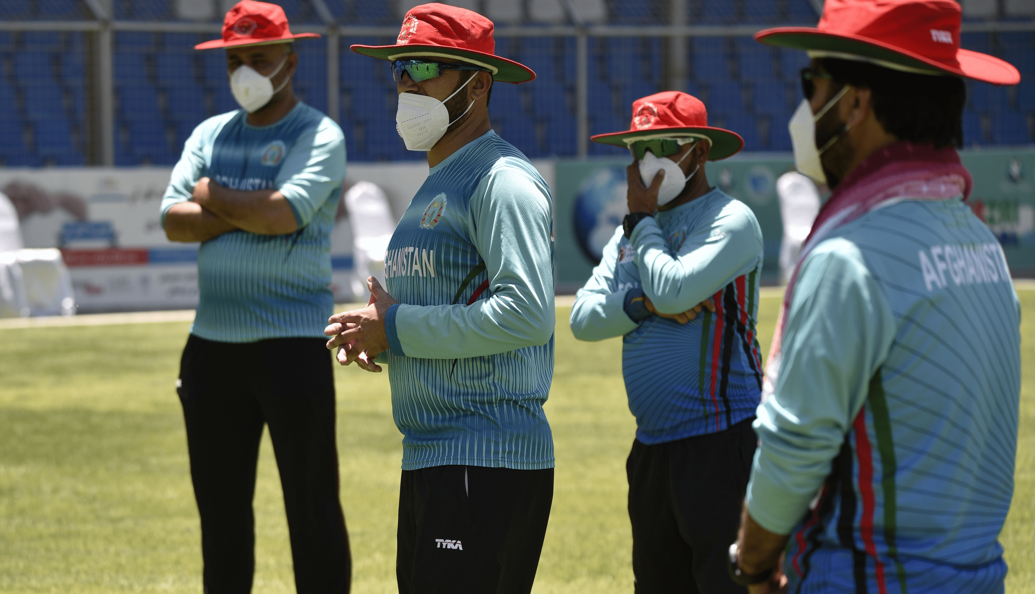 Afghanistan cricketers start month-long training camp