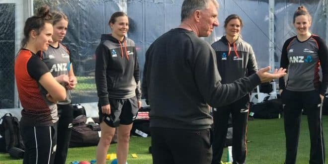 New Zealand women's cricket team hold first training session post lockdown