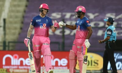 REPORT: Stokes, Samson roar back to form as RR beat MI by 8 wickets