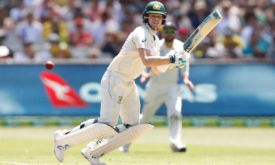 Can't sit down for too long, says Smith about his stiff back