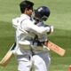 India win the second Test by eight wickets, level series