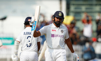 Day 1, India vs England 2nd test: Rohit Sharma's ton guides India to commanding total on a difficult Chennai wicket