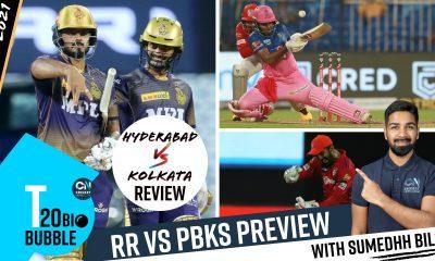 SRH v KKR Review: Kolkata's impressive show + RR v Punjab Kings Preview | IPL 2021 | CricketNews.com