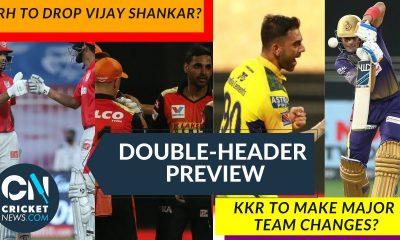 Punjab v Sunrisers Hyderabad + CSK v KKR Preview | IPL 2021|
