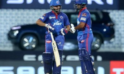 Rishabh Pant captain of Delhi Capitals and Prithvi Shaw of Delhi Capitals  ( Credit : BCCI/IPL) (not for sale)