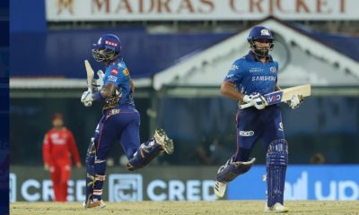 Rohit Sharma Captain of Mumbai Indians and Suryakumar Yadav of Mumbai Indians (Credit : BCCI/IPL) (not for sale)