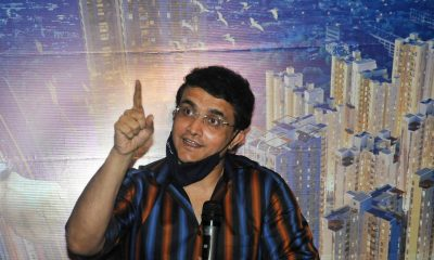 Kolkata: BCCI President and Bengal Peerless Housing Development Company Brand Ambassador Sourav Ganguly during a promotional programme, in Kolkata on Sep 28, 2020. (Photo: Kuntal Chakrabarty/IANS)
