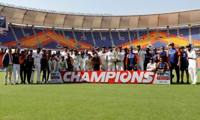 All-India Senior Selection Committee has picked the Indian squad for the inaugural ICC World Test Championship (WTC) final and the five-match Test series against England. ( Credit : BCCI/tiwtter)