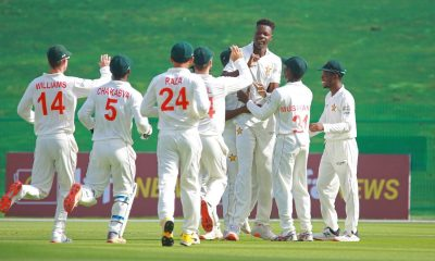 Pace bowler Blessing Muzarabani took four wickets as Zimbabawe dismissed Afghanistan for 131 in the first Test at the Sheikh Zayed Stadium on Tuesday. Zimbabwe's fast bowlers made the most of the pacer-friendly conditions on offer as Muzarabani, Victor Nyauchi and Donald Tiripano took eight wickets between them. (Credit :- ICC)