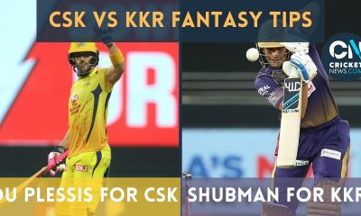 Cricket News Fantasy Scout: KKR vs CSK, Match 15 | IPL 2021