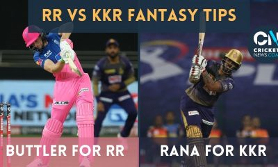 Rana? Buttler? Fantasy Tips for RR vs KKR, Match 18   CricketNews Fantasy Scout   IPL 2021