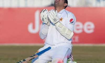 Abid Ali double ton puts Pakistan in control vs Zimbabwe