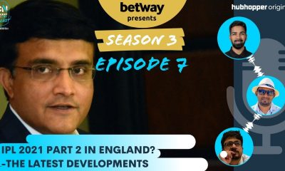 S3E7: IPL 2021 in England | T20 World Cup in India | The Cricket News Podcast with Sumedhh Bilgi