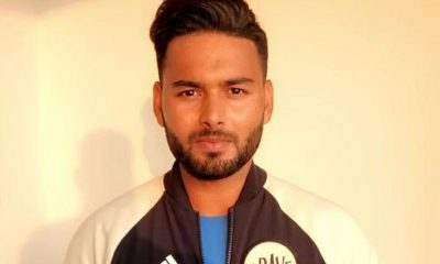 India wicketkeeper Rishabh Pant .