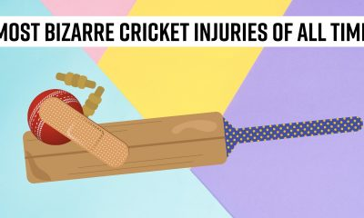 Most bizarre cricket injuries of all time