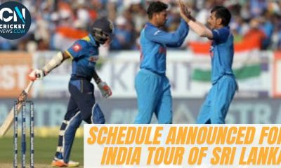WATCH: India tour of Sri Lanka Latest Update-Dates announced for the ODI & T20 series