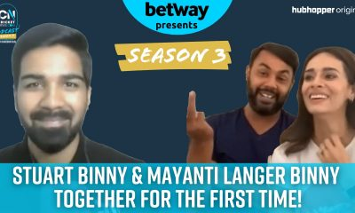 WATCH, S3 E11: Mayanti Langer and Stuart Binny Interview on #TheCNPodcast with Sumedhh Bilgi   Cricket News