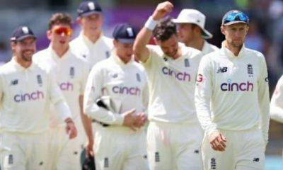 England's squad Image Source: IANS