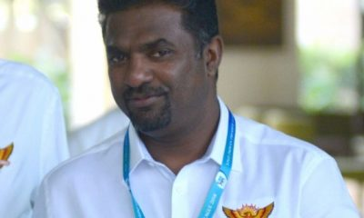 A big wide smile: The day I kept wickets for Muttiah Muralitharan